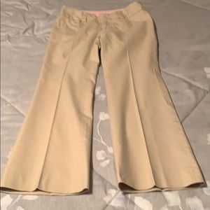 Gap Khaki Curvy Fit Trousers